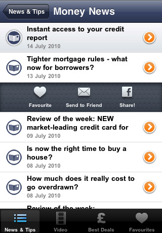 Moneysupermarket.com iphone app