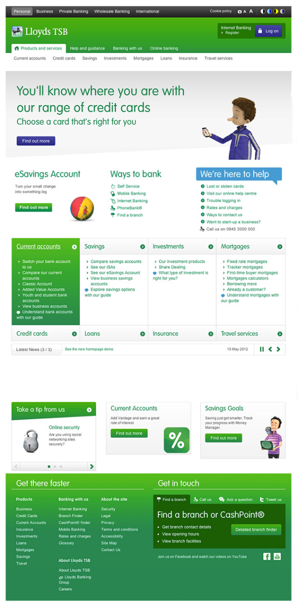 Lloyds TSB Online Banking Changes: First Look - Money Watch